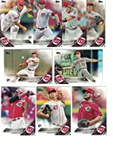 Cincinnati Reds / Complete 2016 Topps Series 1 & 2 Baseball Team Set. FREE 2015 Topps Reds Team Set WITH PURCHASE!