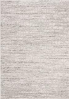 Safavieh CSC170A-8 Cascade Collection CSC170A Cream and Silver Premium Polyester (8' x 10') Area Rug,