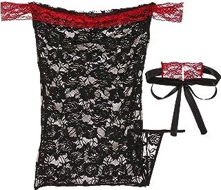 Mumoo Bear Lingerie Womens Nightwear Set Sleepwear Lace Underwear Costume Dress G-string Handcuf
