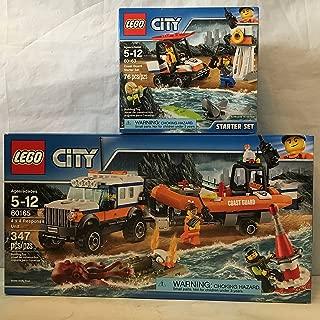 LEGO City Coast Guard 4 x 4 Response Unit & LEGO City Coast Guard Starter Set