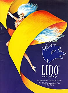 Lido de Paris: Le Plus Celebre Cabaret du Monde (The Most Famous Night-Club in the World) (in French and English)