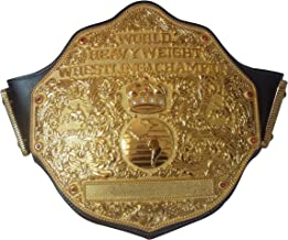 Fandu Belts Adult Replica Big Gold Wrestling Championship Belt Title The Best Gift to your Greast Daddy