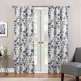 ECLIPSE Paige Thermaweave Printed Panel, 37 in x 63 in, Multicolor