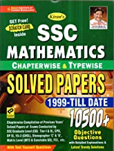 Kiran SSC Mathematics Chapterwise & Typewise Solved Papers 1999 Till Date 9500+ Objective Questions For SSC CGL Tier I & I...