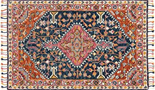 Loloi Rugs, Zharah Collection - Navy / Multi Area Rug, 1'6
