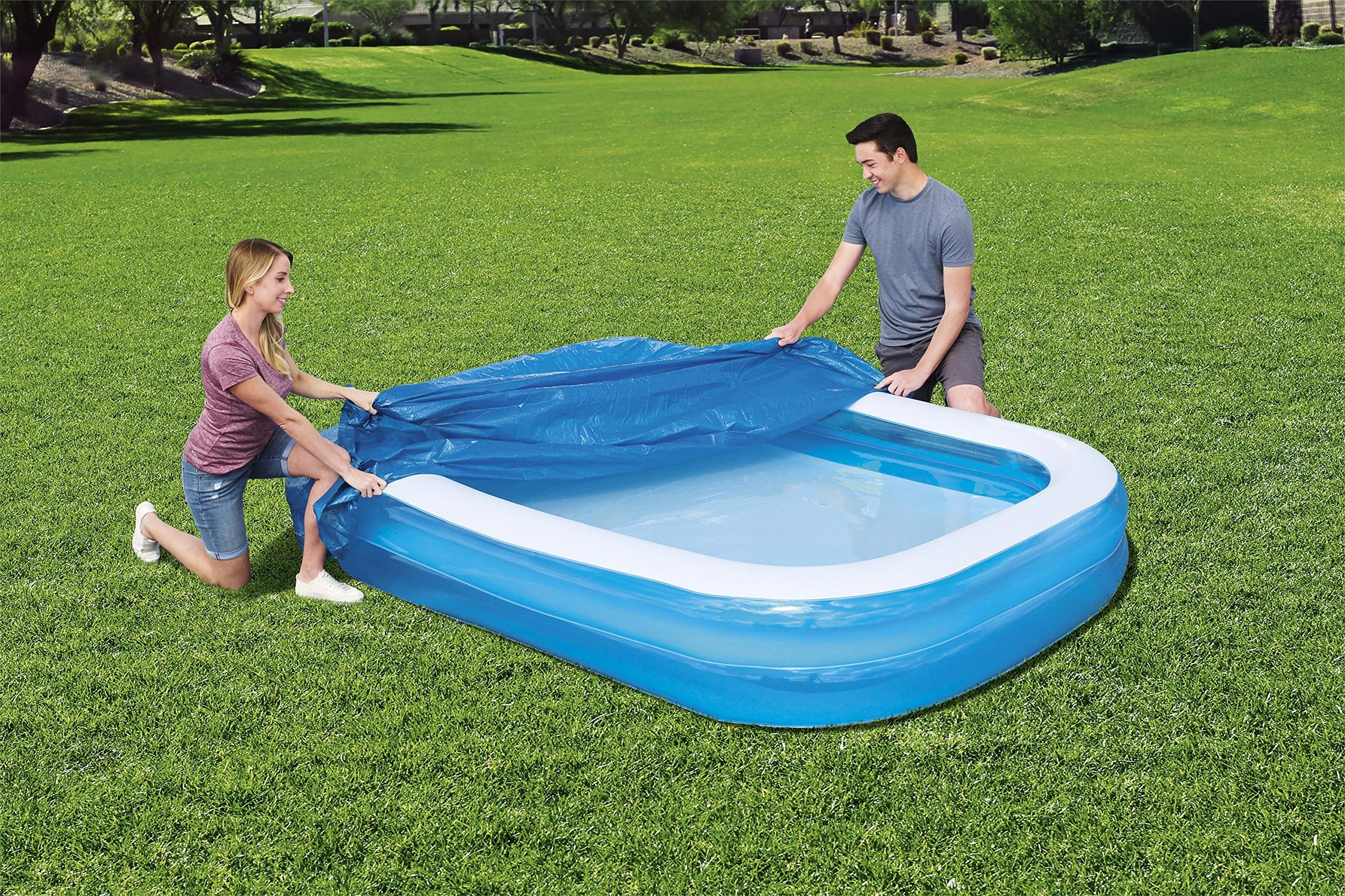 Bestway 8321626 Cobertor Para Piscina Rectangular Inflable 262x175 ...