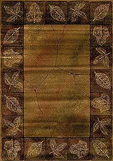 United Weavers of America Genesis Collection Sephora Heavyweight Heat Set Olefin Rug, 3-Feet 11-Inch by 5-Feet3-Inch, Gold