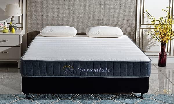 Dreamtale 8 Inch Multi Layer Foam Innerspring Mattress King