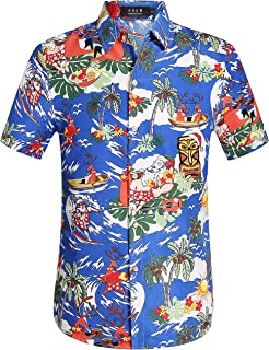 christmas themed hawaiian shirts