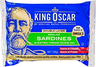 King Oscar Sardines in Extra Virgin Olive Oil, 105 g