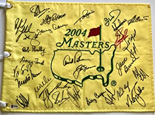 Sports Mem, Cards & Fan Shop Autographs-original 2019 Us Open Autograph Signed Field Flag Rory Mcilroy Fowler Beckett Bas Coa Loa