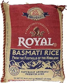 Royal Basmati Rice 20 Pounds