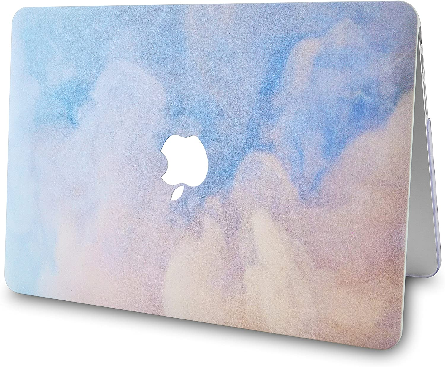 White Marble Gold Stripes 2018-2021 Touch ID A2337 M1//A2179//A1932 Retina Display LuvCase Laptop Case For MacBook Air 13 Inch/ /Rubberized/Plastic/Hard/Shell/Cover