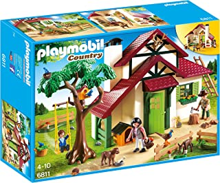 PLAYMOBIL- Forest Ranger's House Playset, Multicolor (6811