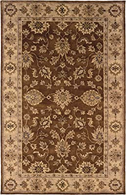 "Linon Rosedown Collection 1'10"" x 2'10"" Brown"