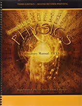 Introductory Physics: A Laboratory Manual: PHYS 1261