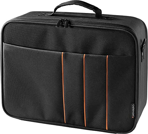 celexon Projector Case 16x11 inches, Projector Travel Carrying-Bag with Adjustable Shoulder Strap, for Epson, Acer, B...