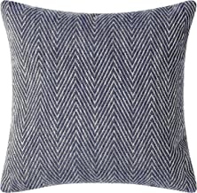 Pillow Pops Ocean Blue Throw Pillow, Luxury Designer Upholstery Cushion, 18 Inch by 18 Inch, Designed in USA, Blue