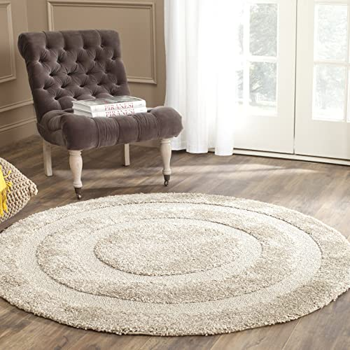 5 Foot Round Area Rugs With Gray Amazoncom