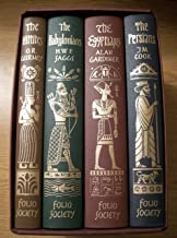 Empires Of The Ancient Near East By The Folio Society (The Hittites, The Babylonians, The Egyptians, The Persians, 4 Volume Set In Case)
