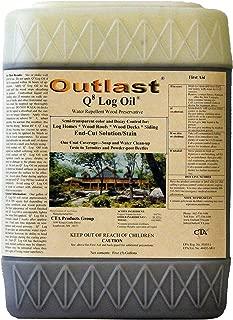 Q8 Log Oil 5 Gallon Pail (Medium Reddish Brown)