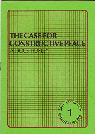 Case for Constructive Peace