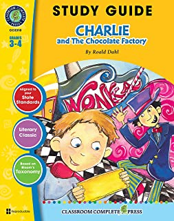Study Guide - Charlie & The Chocolate Factory Gr. 3-4
