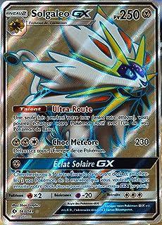 125 Solgaleo Gx Ur Pk Sm4 Jeu De Cartes Pokemon Hobbies