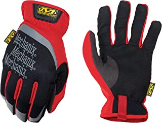 Mechanix Wear Large Black And Red FastFit Full Fin