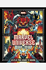 Marvel Universe Map By Map Hardcover