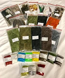 Muskoka Lifestyle Products Fly Tying Material Feather Starter Kit