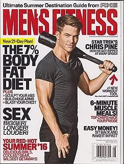 Men's Fitness Magazine July/August 2016