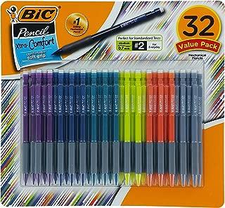BIC Matic Grip Mechanical Pencil, HB NO 2, 0.7 mm, 32 Pencil