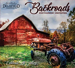 2020 Backroads Wall Calendar