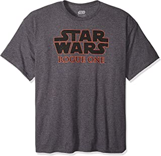 STAR WARS Men's Rogue One Basic Logo Graphic T-Shirt