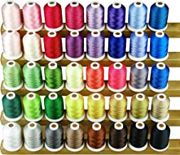 Sinbel Polyester Embroidery Machine Thread (40 colors)