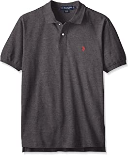 U.S. Polo Assn. Men's Solid Polo with Small Pony