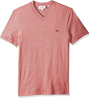 af6c315aef0b1 Lacoste Men's S/S Striped Jersey Raye T-Shirt Regular Fit