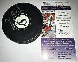 Vinny Lecavalier Signed / Autographed Tampa Bay Lightning Hockey Puck Silver - JSA Certified