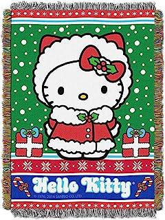 45 x 60 Polka Dot Kitty Fleece Throw Blanket SANRIO Hello Kitty Multi Color