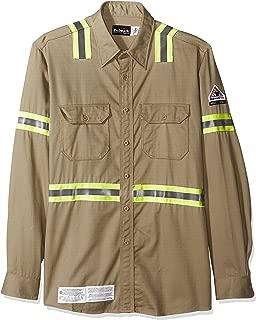 Bulwark Men's Enhanced Vis Uniform Shirt-Excel Fr