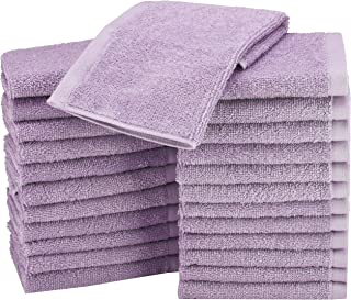 purple face cloth