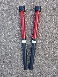 Kakesa Steel Drum Pan Mallets Sticks Wood Trini - Double Seconds
