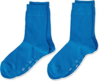Mehrfarbig 2erPack Anthra.Mel 3081 39 ESPRIT Kinder Stripe Logo gestreift Baumwoll-Socken Herstellergr/ö/ße: 39-42