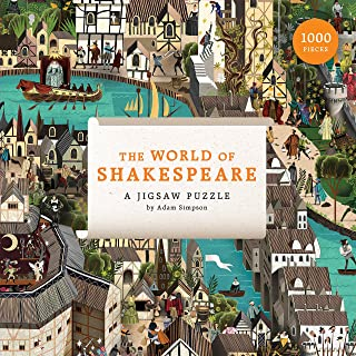 Laurence King Publishing The World of Shakespeare: 1000 Piece Jigsaw Puzzle