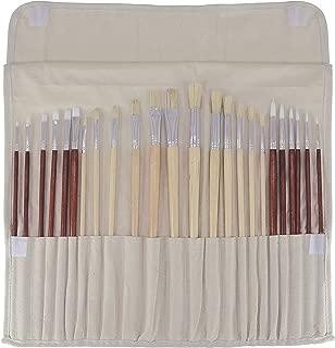 Art Advantage Oil and Acrylic Brush Set, 24-Piece