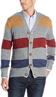 UNIONBAY Men's Long-Sleeve Damon NEP Button-Front Cardigan Sweater - Gray