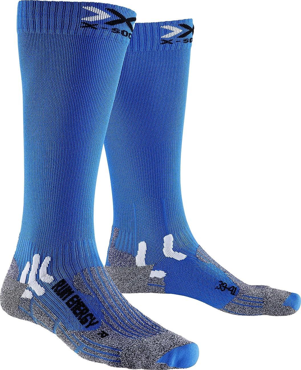 食用反動刺しますメンズとレディース1ペアx-socks実行Energiser圧縮ソックス