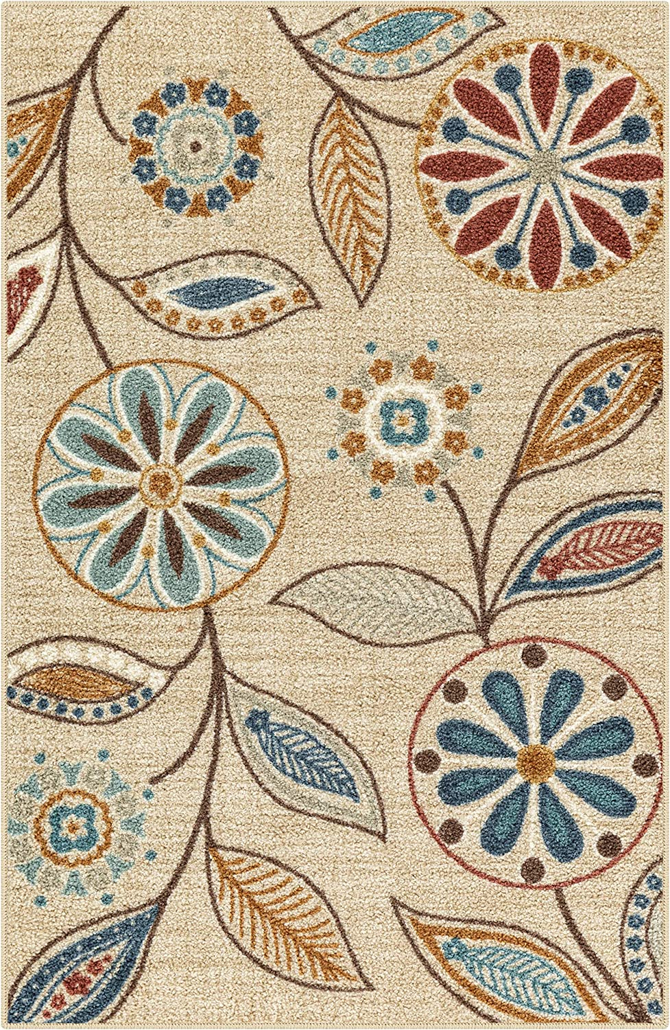 Sales results No. 1 Maples Rugs Reggie Floral Kitchen Carp Skid Accent free Area Non