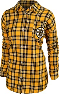 FOCO NHL Women's Wordmark Flannel